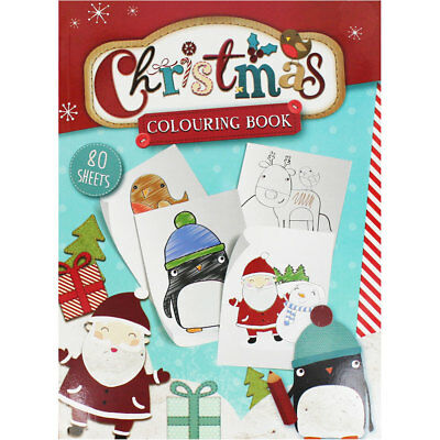 Christmas Colouring Book, Children's Books, Brand New
