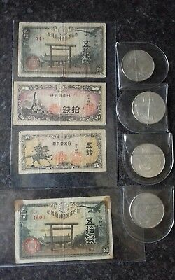Chinese Banknotes And Coins