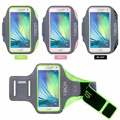 GBOS® Sports Armband Running Jogging Exercise Case for Samsung Galaxy A5 (2015)