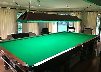 Competition size Snooker/pool table light box - lighting box