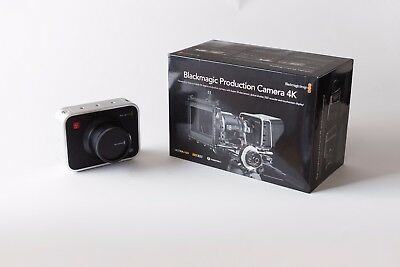 Blackmagic Production Camera 4K, used in excellent condition