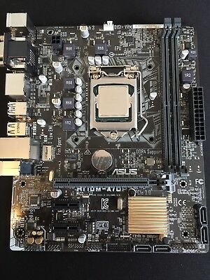 Asus LGA1151 Motherboard And Intel i3 6400T CPU Processor Bundle DDR4 support