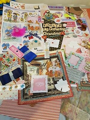 This Is For 100 Peices Of Paper ,card, Embelishments,toppers And Crafting Peice