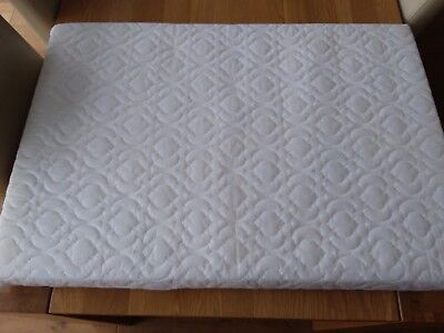 Travel Cot mattress **excellent condition** 950 x 650 & 2 fitted sheets!!