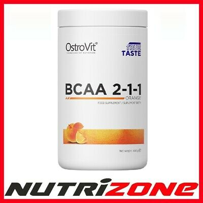 OSTROVIT BCAA 2:1:1 Workout Amino Acid Recovery Lean Muscles Leucine 500g