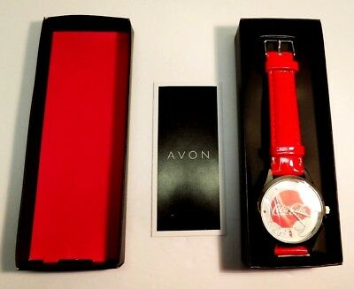 COCA COLA Avon Watch Christmas Bears Wristwatch Brand New