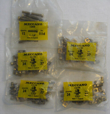 Meccano Parts 37, 111d - in original packets