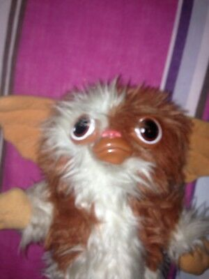 Vintage Gizmo Gremlins Gremlin -Soft Plush Toy - with Squeaker Hasbro Softies