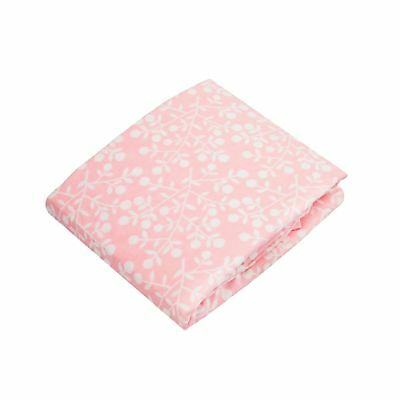 Kushies Baby Fitted Crib Sheet Pink Berries New