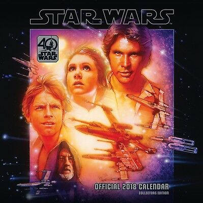 Star Wars 40th Anniversary Official Calendar 2018