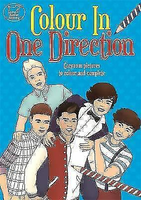 Colour In One Direction (Buster Activity), Good Condition Book, Fearns, Georgie,