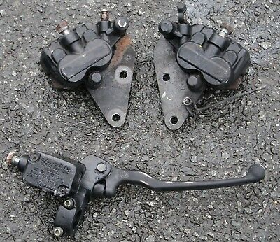 Paiggio X9 250 2003 03 Front Left Right Brake Calipers Front Master Cylinder