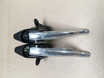 Campagnolo C record era Chorus/ athena Shifters Brake Levers 8 speed