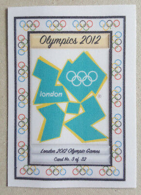 2012 London Olympic 50p Cards .. Complete unique set of 32 Cards