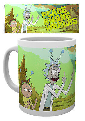 Rick and Morty Peace Mug