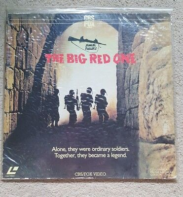 The Big Red One PAL Laserdisc