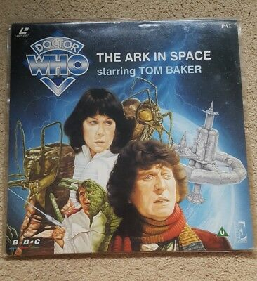 Doctor Who The Ark in Space PAL Laserdisc