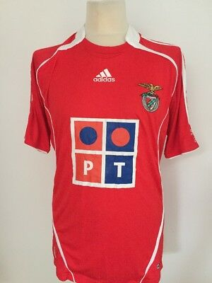 BENFICA Men's 2006/2007 HOME Shirt ADIDAS Size LARGE