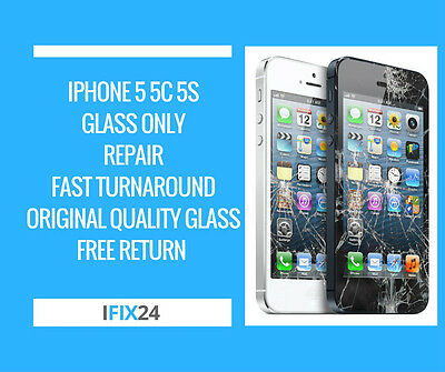 iPhone 5 5S 5C SE Digitiser Screen LCD Glass Repair Replacement Service