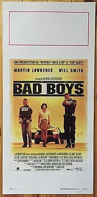 LOCANDINA Bad Boys con Will Smith e Martin Lawrence - M80
