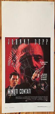 LOCANDINA Minuti Contati con Johnny Depp e Christopher Walken - M131