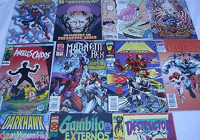 Lote 11 comics Marvel