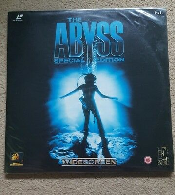 The Abyss Special Edition Widescreen PAL Laserdisc