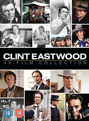 Clint Eastwood 40 Film Collection [2017] (DVD)