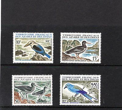 FR. TERR.AFARS/ISSAS 1967 Birds issues 10f-55f. Mtd MINT