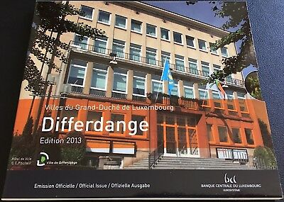 LUXEMBOURG Portfolio DIFFERDANGE with 9 values (FDC) with cover