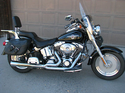 2004 Harley-Davidson Softail  FAT BOY FLSTFI  (fuel injection)
