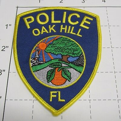 Oak Hill Police Dept Ohpd Oak Tree Orange City Sun Oh Colorful Florida Patch
