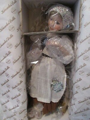 """Cinderella"" Doll Heroines From Fairy Tale Forest By Knowles China Co. 14 inches"