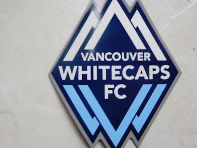 Whitecaps Fc Club Logo Magnet, Vancouver, Soccer,football New, Free Shipping