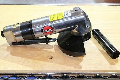 "New Suntech SM-6195 Heavy Duty 4-1/2"" / 5"" Pneumatic Air Angle Grinder 3/8""-24"