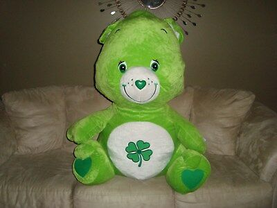 Care Bears Good Luck Bear 3 Feet Jumbo Plush Nanco 2004 Those Characters