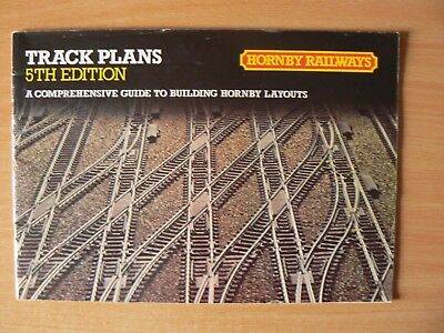 HORNBY RAILWAYS - 1981 CATALOGUE TRACK PLANS LAYOUTS 5th EDITION