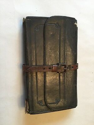 A 19th Century Leather Fly Wallet