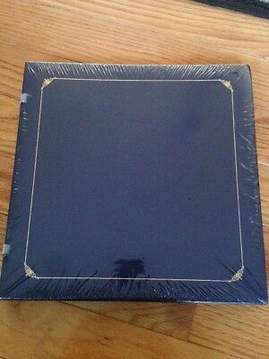 CREATIVE MEMORIES 12x12 Album W/15 Pages Navy Blue Open Spine NEW