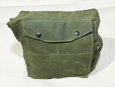 Canadian Military Army 82 Pattern Gas Mask Bag #23998