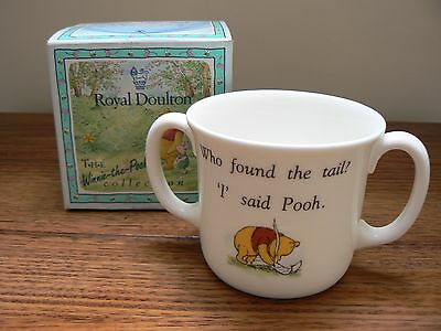 Royal Doulton The Winnie The Pooh Collection - 2 Handle Cup Eeyore - Boxed