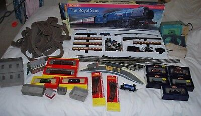 "Hornby Model Railway Set - ""royal Scot"" + Immense Amount - Excellent Condition"