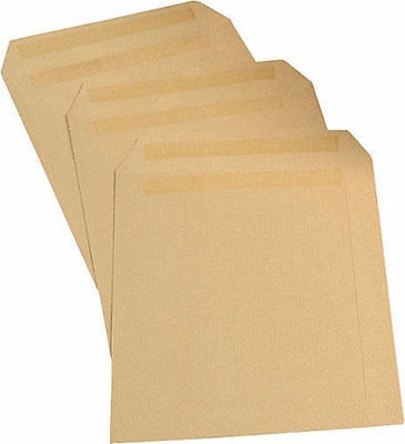 1000 X A4 C4 Plain Manilla Brown Envelope Envelopes 90 Gsm Self Seal