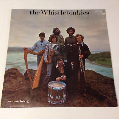 The Whistlebinkies. Claddagh records. Lp.