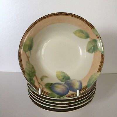 BHS Queensbury 6 cereal bowls