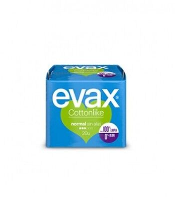 Evax Compresas Cottonlike Normal 20 Uds