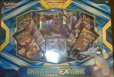Pokemon TCG. Kingdra EX Box  - FREE P&P