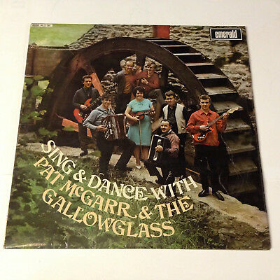 Sing & Dance with Pat McGarr and The Gallowglass. Emerald records. Lp.