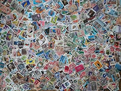 BRITISH EMPIRE & COMMONWEALTH, 1000+ used good quality stamps #1