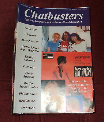 Chatbusters Soul Motown Magazine Issue 19,july 2002